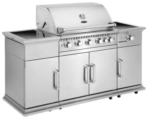 Justus Poseidon Gasgrill-Küche JG 300 2FS mit 5 Brenner