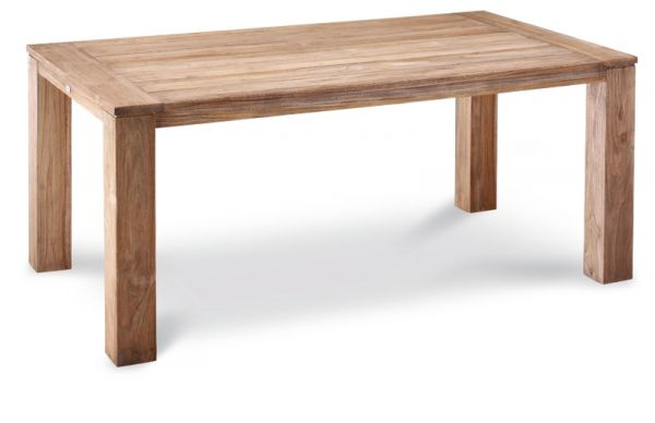 BEST Tisch Moretti Teak grey-wash 180x100