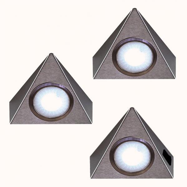 LED Piccolo Sun neutralweiß 3er-Set inkl. Konverter und Masterschalter