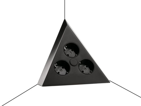 CON-AKTIV® Mira Dreieck schwarz