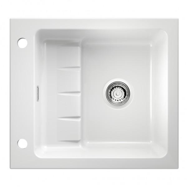 Spüle Contura® Pick up E Keramik weiß glänzend 60er Schrank
