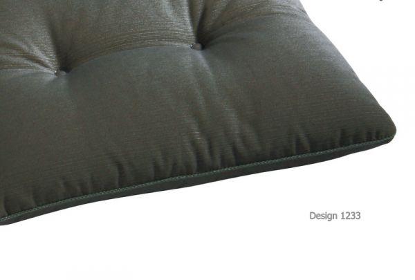 BEST Bankauflage grau 112 cm 05181233