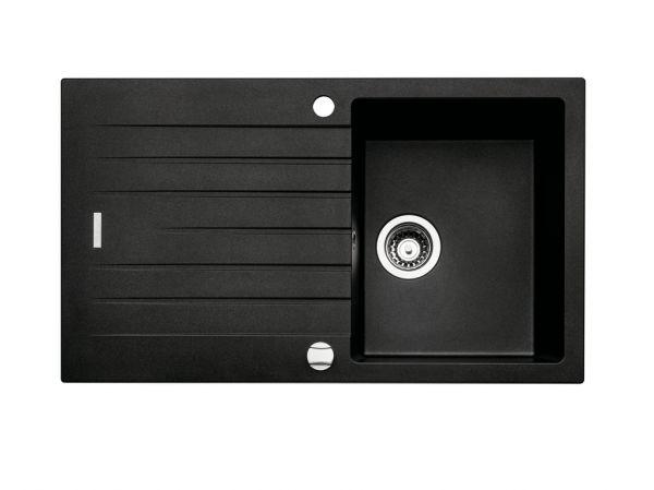 Spüle Contura® Angola 100 granit nero 45er Schrank