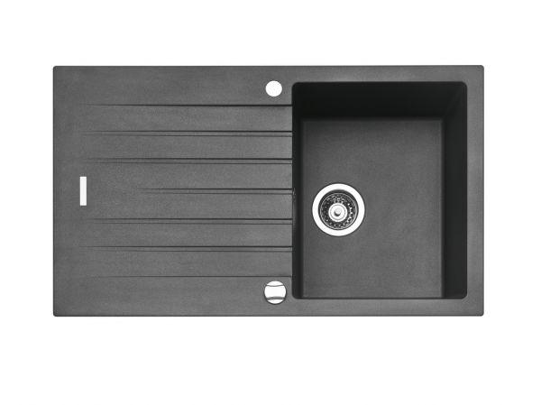 Spüle Contura® Angola 100 granit metallico 45er Schrank