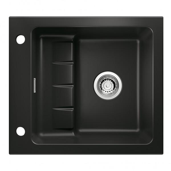 Spüle Contura® Pick up E Keramik schwarz 60er Schrank