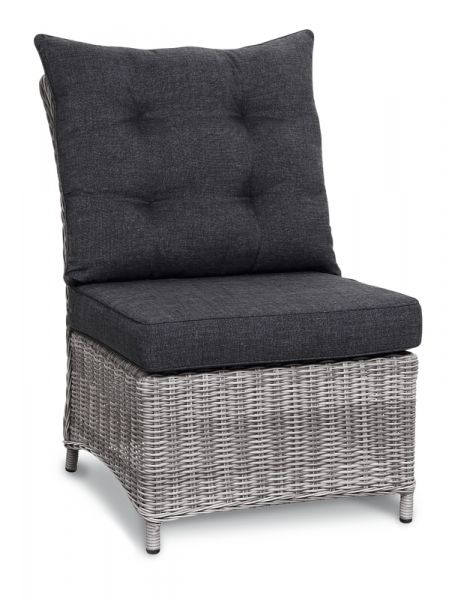 BEST Lounge Mittelteil Barcelona warm-grey