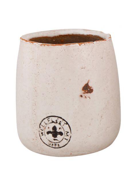 Vase Übertopf Jaune 13,5 cm