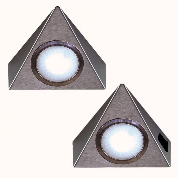 LED Piccolo Sun neutralweiß 2er-Set inkl. Konverter und Masterschalter