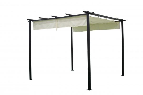 Pavillon Antibes 3x3 Meter mit Schiebedach