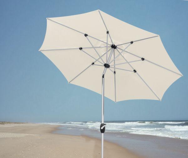 BEST Sonnenschirm Kreta rund 270 cm natur 08270090
