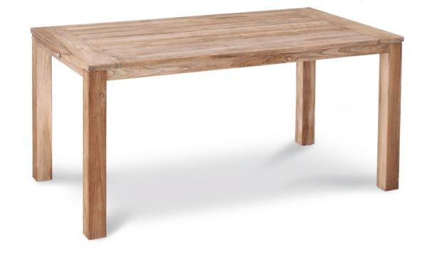 BEST Tisch Moretti Teak grey-wash 160x90