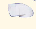 Umlenkstück ohne Stutzen weiß für Flachkanalsystem 125 Soft