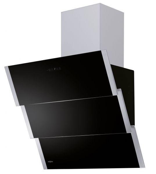 Oranier Kopffrei-Wandhaube Lito Schwarz 60cm