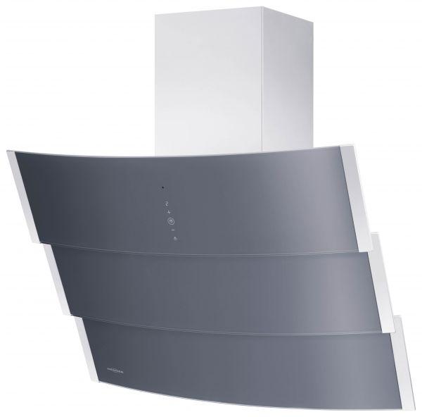 Oranier Kopffrei-Wandhaube Livario Graphit-Grau 90cm