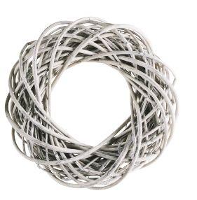 Kranz Willow Weiß, 35x35x10 cm