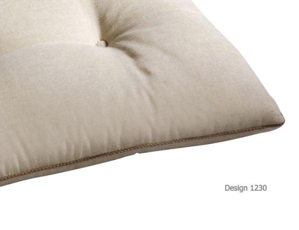 BEST Bankauflage natur 112 cm 05181230