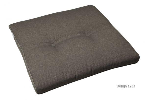 BEST Stuhlauflage konisch grau 05251233