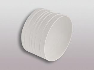 Abluft Schlauchinnenverbinder 150 mm Durchmesser für
