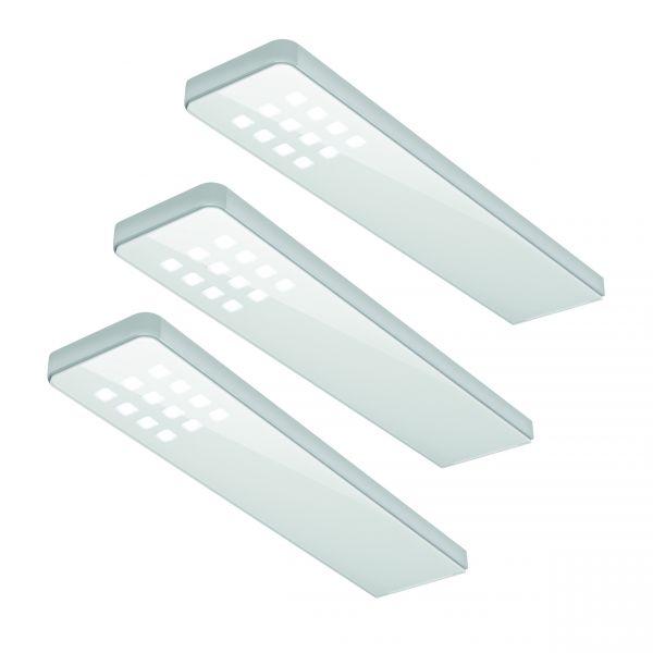 LED Leuchte weiß KEY DOT - 3er Set neutralweiss