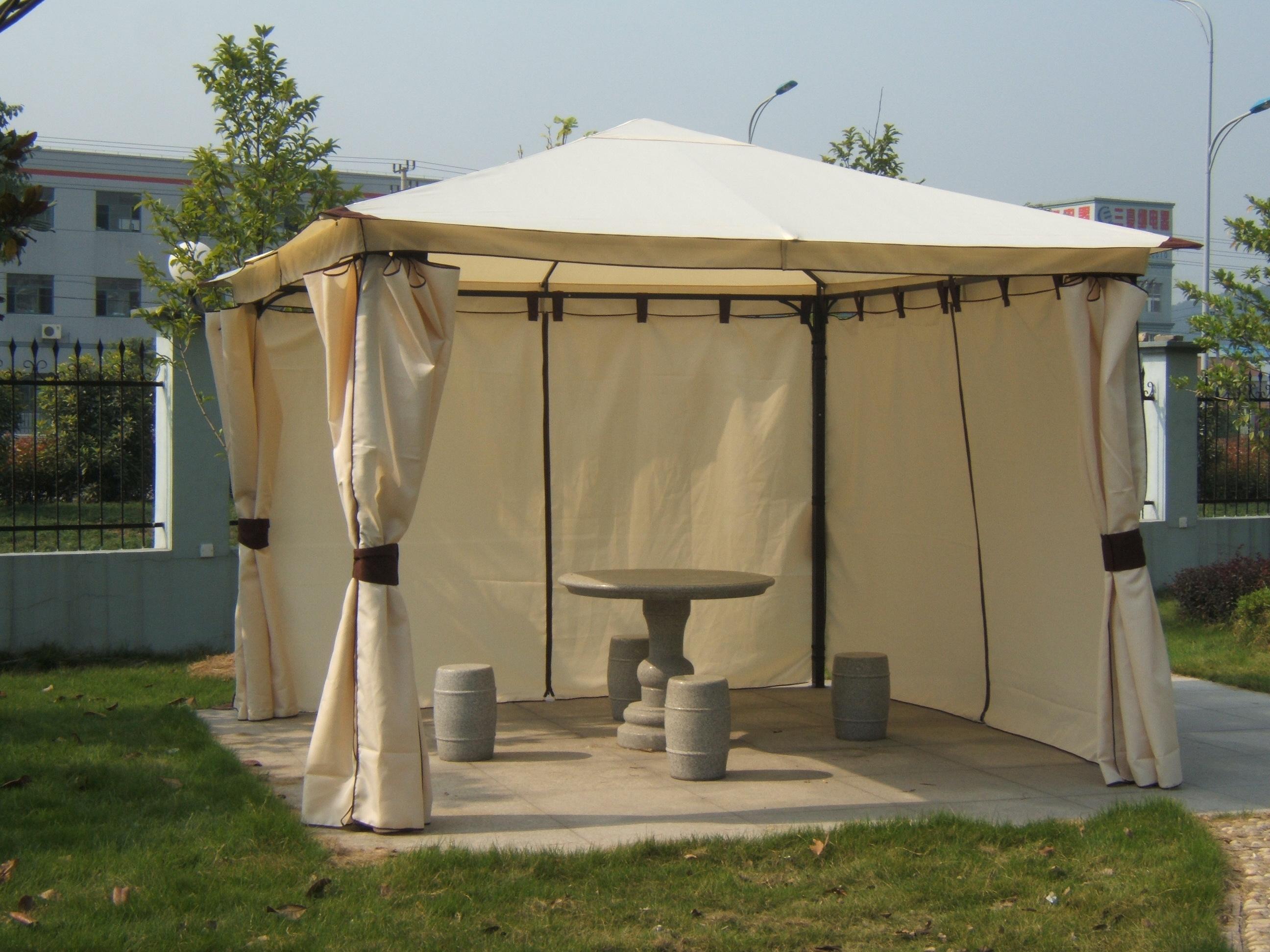 pavillon venezia 3x3 meter lda homestore ihr partner fuer kueche wohnen und garten. Black Bedroom Furniture Sets. Home Design Ideas