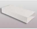 Flachkanalsystem 150 CLASSIC Vierkantrohr 100cm ohne Muffe