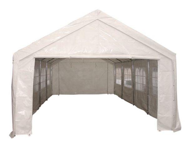 Zelt PALMA 4x8 Meter, PVC weiss
