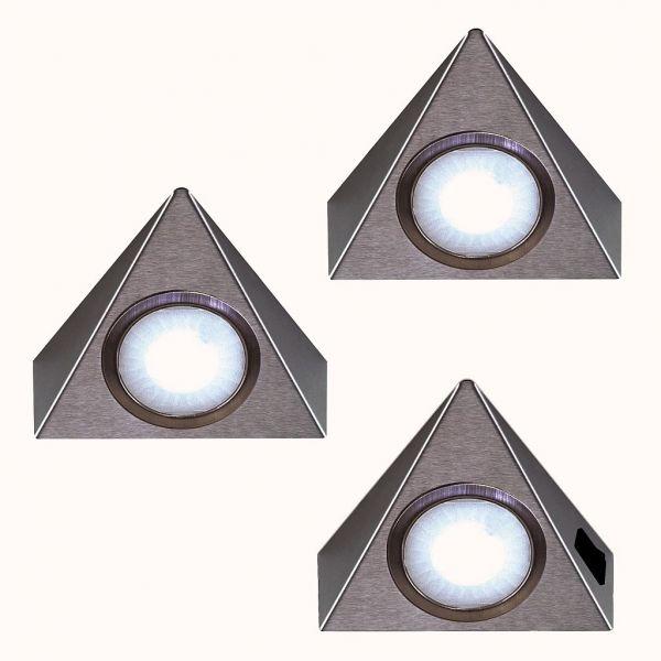 LED Piccolo Sun warmweiß 3er-Set inkl. Konverter und Masterschalter