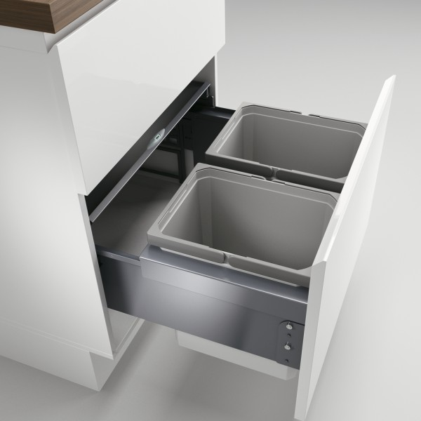 Cox® Base 360 K/600-2 Behälter hellgrau