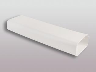 Flachkanalsystem 125 Soft Vierkantrohr 100 cm 150x70mm