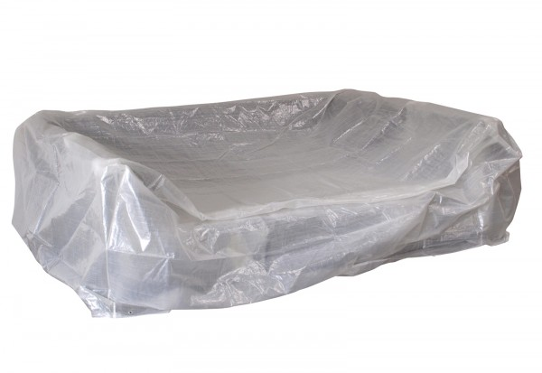 Abdeckhaube Loungeset Manacor transparent